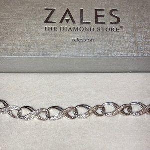 Zales Sterling Silver Tennis Bracelet